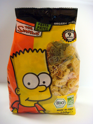 Fun Foods 4 All The Simpsons Tricolori pasta