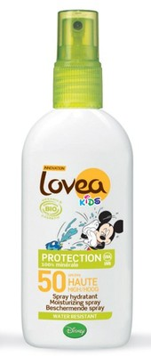 Lovea Bio Aurinkorasva Kids SPF 50 Disney