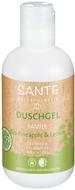 Kuva tuotteesta Sante Organic Ananas & Sitruuna suihkugeeli, 200 ml