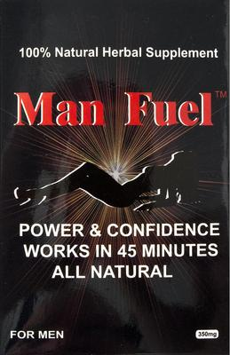 Man Fuel For Men potenssivalmiste, 3 kaps