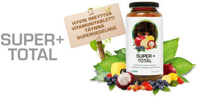 Super+ Total monivitamiini, 60 tabl