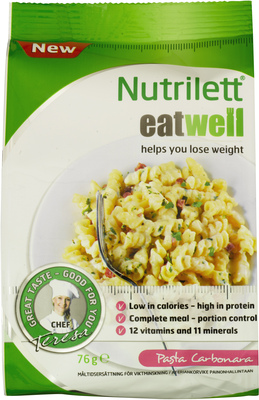 Nutrilett Eat Well Pasta Carbonara