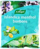 Kuva tuotteesta A.Vogel Islandica Menthol kurkkukaramelli