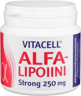 Kuva tuotteesta Vitacell Alfalipoiini Strong