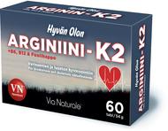 Kuva tuotteesta Hyvän Olon Arginiini-K2