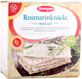 Kuva tuotteesta Semper Gluteeniton Rosmariini Näkkileipä
