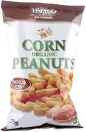 Kuva tuotteesta Trafo Luomu Maissi-maapähkinä snack