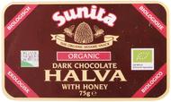 Kuva tuotteesta Sunita Luomu Halva tumma suklaa ja hunaja