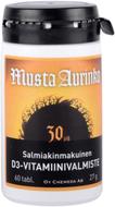 Kuva tuotteesta Musta Aurinko D3-vitamiini 30 mikrog