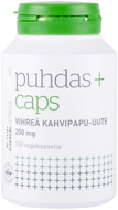 Kuva tuotteesta Puhdas+ Caps Vihreä kahvipapu-uute, 150 kaps