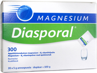 Kuva tuotteesta Magnesium Diasporal jauhe 300 mg