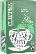 Kuva tuotteesta Clipper Luomu Vihreä Chaitee