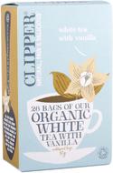 Kuva tuotteesta Clipper Luomu Valkoinen vanilja tee