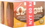 Kuva tuotteesta Omegat 3-6-7-9 kampanjapakkaus