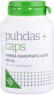 Kuva tuotteesta Puhdas+ Caps Vihreä kahvipapu-uute kampanjapakkaus 150+40 kaps
