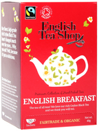 Kuva tuotteesta English Tea Shop Luomu English Breakfast tee