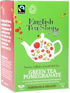 Kuva tuotteesta English Tea Shop Luomu Vihreä Granaattiomenatee