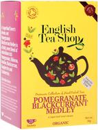 Kuva tuotteesta English Tea Shop Luomu Granaattiomena-mustaherukkatee