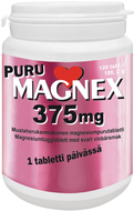 Kuva tuotteesta Magnex Puru 375 mg