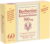 Kuva tuotteesta Leader Vahva Berberin + Kromi, 60 tabl
