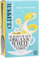 Kuva tuotteesta Clipper Luomu Valkoinen sitruunatee