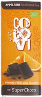 Kuva tuotteesta CocoVi Luomu SuperChoco Appelsiini raakasuklaa
