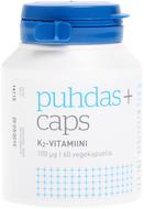 Kuva tuotteesta Puhdas+ Caps K2-vitamiini, 60 kaps