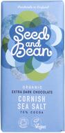 Kuva tuotteesta Seed and Bean Luomu Cornishin Merisuola Suklaa