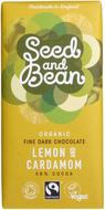 Kuva tuotteesta Seed and Bean Luomu Sitruuna-Kardemumma Suklaa