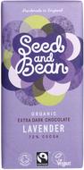 Kuva tuotteesta Seed and Bean Luomu Laventeli Suklaa