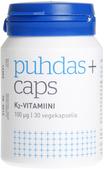 Kuva tuotteesta Puhdas+ Caps K2-vitamiini, 30 kaps