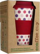 Kuva tuotteesta Ecoffee Cup Pink Polka Dots