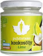 Kuva tuotteesta Puhdistamo Luomu Neitsytkookosöljy - Lime