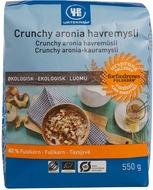 Kuva tuotteesta Urtekram Luomu Crunchy aronia-kauramysli