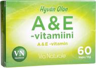 Kuva tuotteesta Hyvän Olon A & E-vitamiini