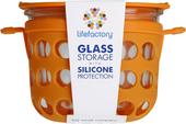 Kuva tuotteesta Lifefactory Eväsrasia 475 ml, oranssi