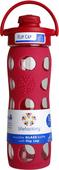 Kuva tuotteesta Lifefactory Sporttipullo 450 ml, vadelmanpunainen