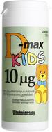 Kuva tuotteesta D-Max 10 mikrog KIDS, 200 tabl