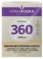 Kuva tuotteesta Voimaruoka 360 Wholefood Vanilja, 5 x 50 g annospussi