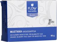 Kuva tuotteesta FLOW Kosmetiikka Mustikka Kasvosaippua