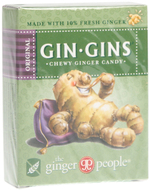 Kuva tuotteesta The Ginger People Gin-Gins Inkiväärikaramelli Original, 42 g
