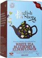 Kuva tuotteesta English Tea Shop Luomu Valkoinen mustikkatee