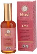 Kuva tuotteesta Khadi Kasvo- ja Vartaloöljy Ruusu