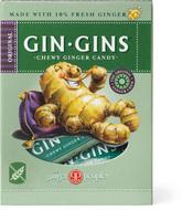Kuva tuotteesta The Ginger People Gin-Gins Inkiväärikaramelli Original, 84 g