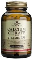 Kuva tuotteesta Solgar Kalsiumsitraatti + D3-vitamiini, 60 tabl