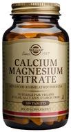 Kuva tuotteesta Solgar Kalsium-Magnesiumsitraatti, 100 tabl