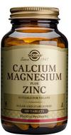 Kuva tuotteesta Solgar Kalsium Magnesium + Sinkki, 100 tabl