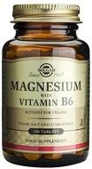 Kuva tuotteesta Solgar Magnesium + B6-vitamiini, 100 tabl