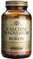 Kuva tuotteesta Solgar Kalsium Magnesium + Boori, 100 tabl