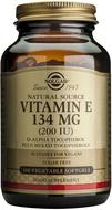 Kuva tuotteesta Solgar E-vitamiini 134 mg vegaaninen, 100 kaps